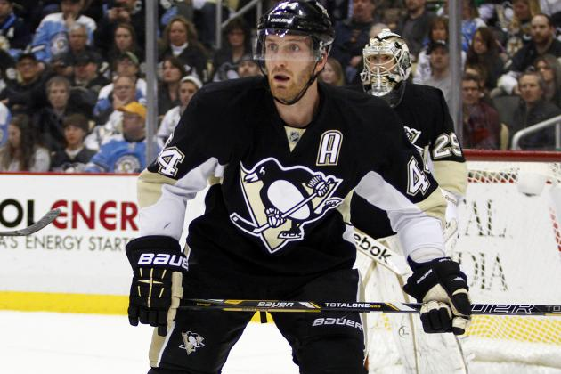 Orpik Leaves Game with Lower-Body Injury