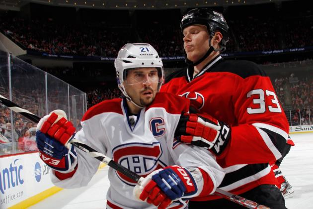 Habs Remain Tied with Bruins After 3-2 Loss to NJ