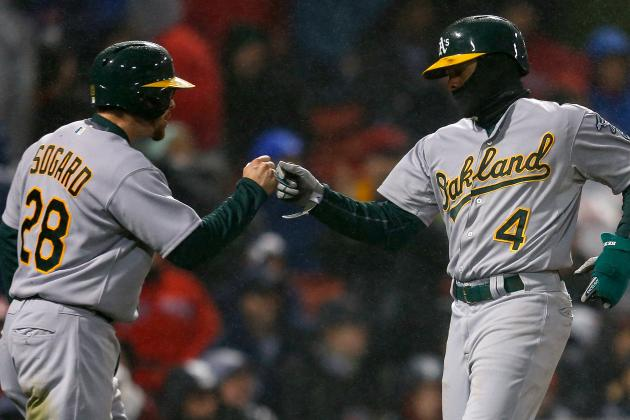 A's Pound Red Sox 13-0 in Boston