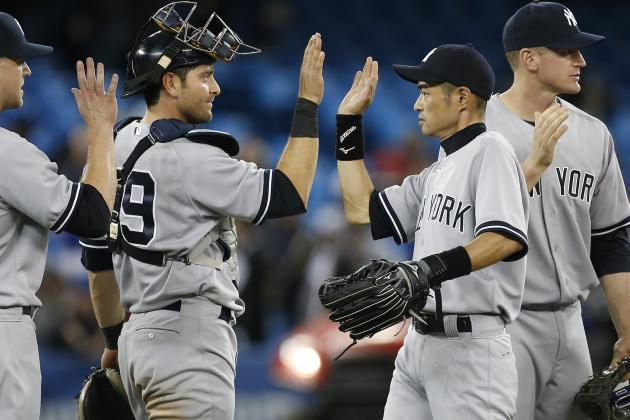 Ichiro's Go-Ahead Single in 9th Propels Yanks