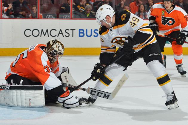Bruins Lose to Flyers 5-2