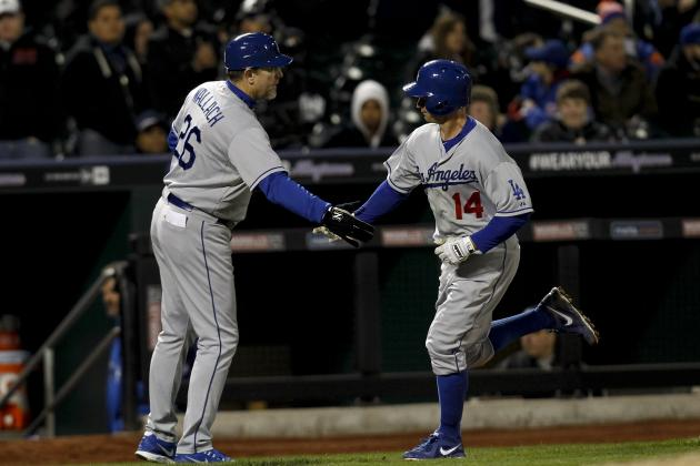 M. Ellis hits 2 HRs, pitcher as Dodgers top Mets
