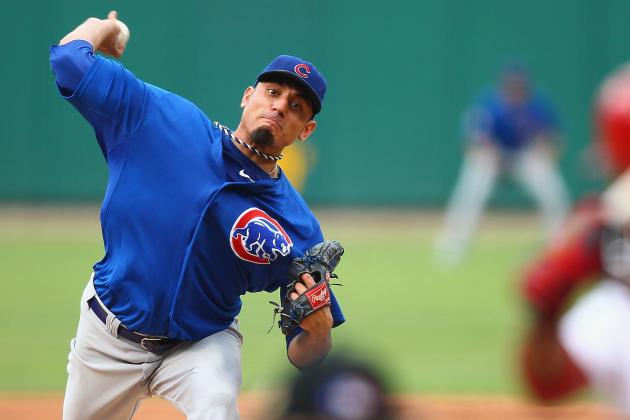 Cubs' Matt Garza Scratched from Next Rehab Start with 'Dead Arm'