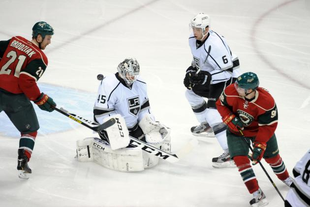 Kings Lose to Wild 2-1