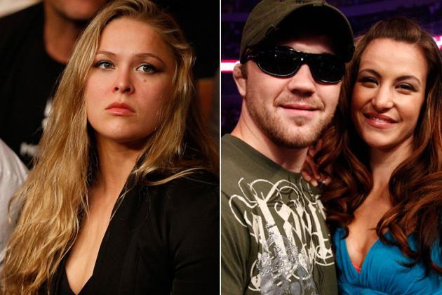 UFC Star Ronda Rousey:  Miesha Tate Should Dump 'Douche' Boyfriend Bryan Caraway