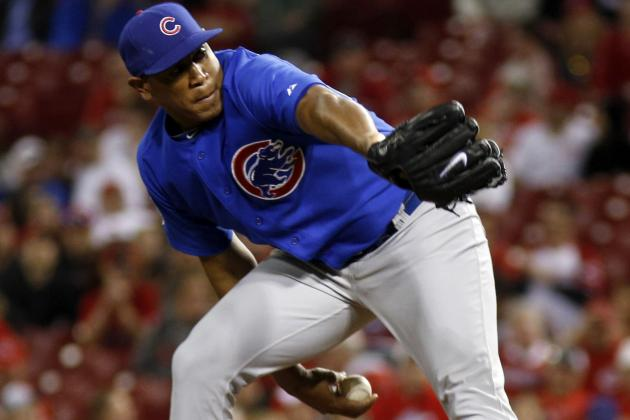 Marmol Blows Another Lead but Cubs Survive 4-2