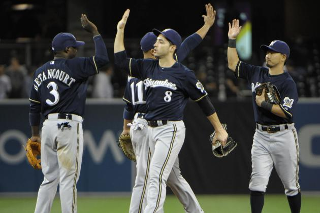 Brewers 6, Padres 3