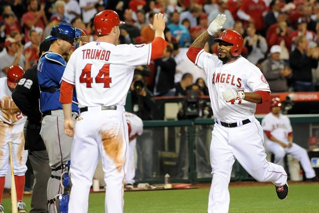 Angels 5, Rangers 4(11)