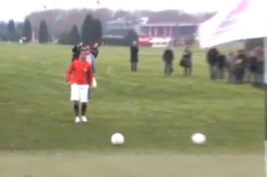 "Someone Combined Soccer and Golf to Create ""Footee"""
