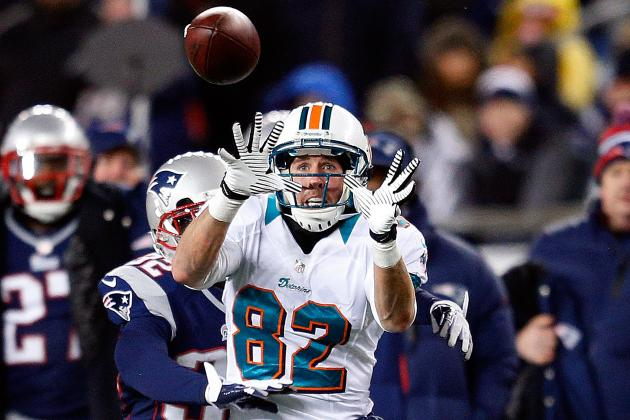Brian Hartline Thinks Dolphins Have a Championship Offense