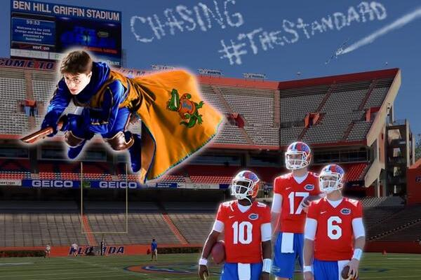 Florida OC Brent Pease Photoshops Harry Potter to Motivate Gator Quarterbacks