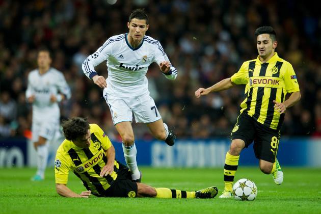 Real Madrid vs. Borussia Dortmund: Counterattack Will Decide UCL Semifinal