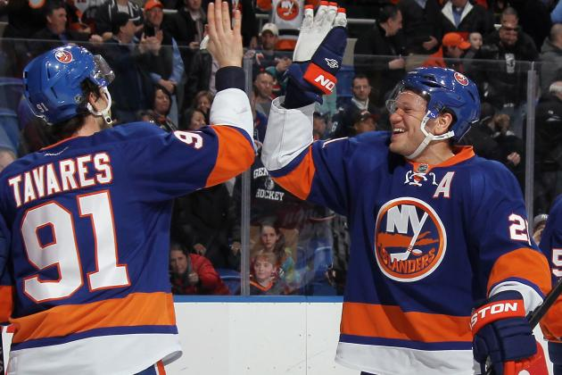 NY Islanders' Playoff Push Has Brought out the Best in Kyle Okposo