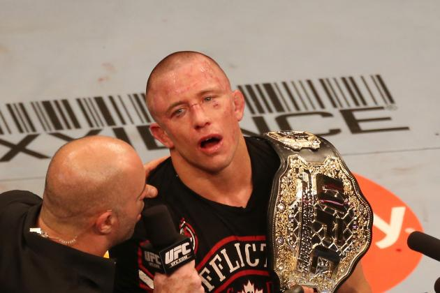 Why the Only Fighter That Can Beat Georges St-Pierre Is Georges St-Pierre