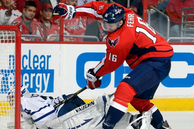 Capitals Re-Sign Fehr to Two-Year, $3M Contract