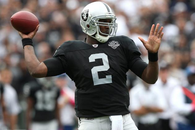 JaMarcus Russell's Comeback Journey Will Be Aided by Weak NFL Draft QB Class