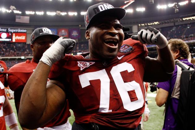 Alabama Tackle Fluker Squarely on Giants' Radar