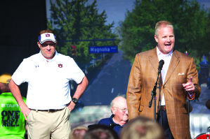 Jay Jacobs Resilient After Tough Year for Auburn Athletics