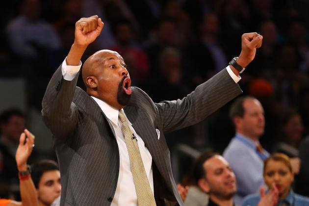 Isiah Thomas Picks NY Knicks Coach Mike Woodson as Coach of the Year