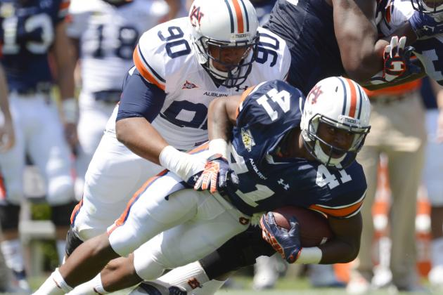 Auburn Focusing on Individual Work to Correct 2012 Tackling Issues