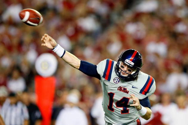 Bo Wallace Starts Throwing in 10 Days