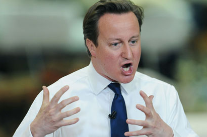 David Cameron Offers Opinion on Luis Suárez but Stays Silent on Bahrain