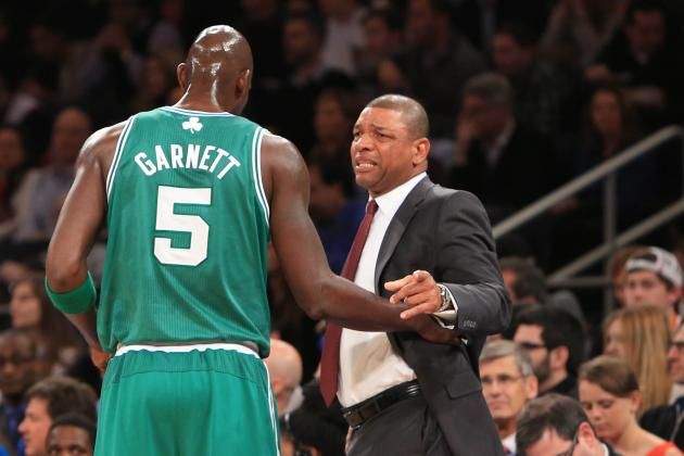 Doc Rivers Calls Kevin Garnett Fouls 'Horrendous Calls'