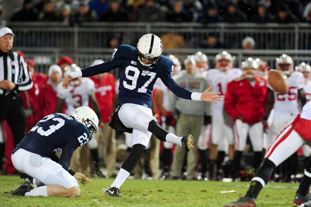 Blue-White Kicking Troubles Not a Concern