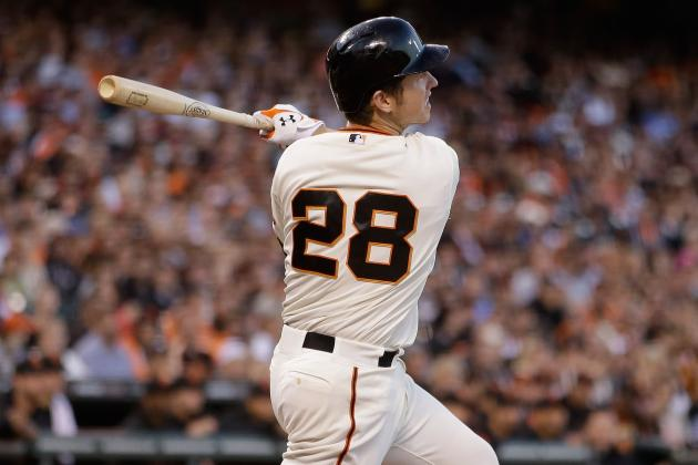 Posey Sits Today in Series Finale vs. D-Backs