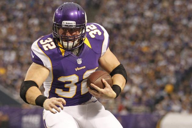 Vikings by Position: Toby Gerhart May Not Be Long for Minnesota