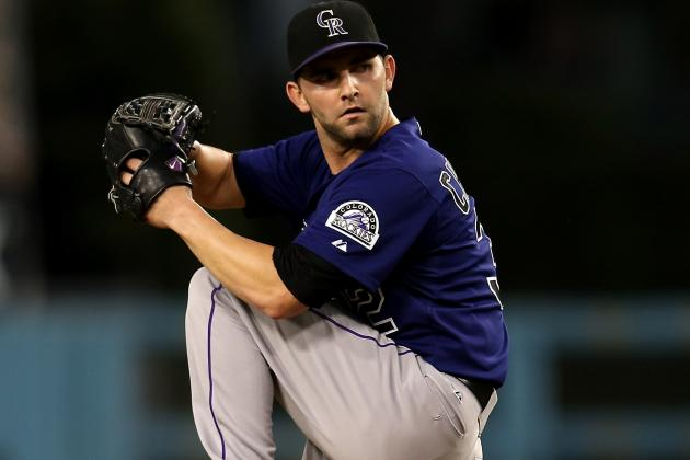 Rockies Recall Chatwood to Start Wendesday