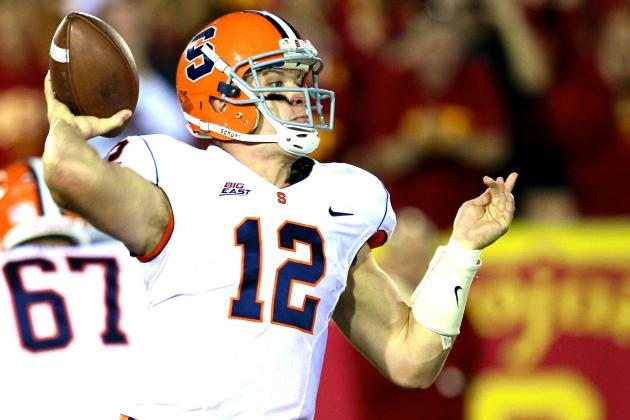 Ryan Nassib Reportedly Linked to Jets and Bills Heading into 2013 NFL Draft