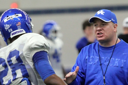 Stoops Reiterated Kentucky's Need for Talent on SEC Call