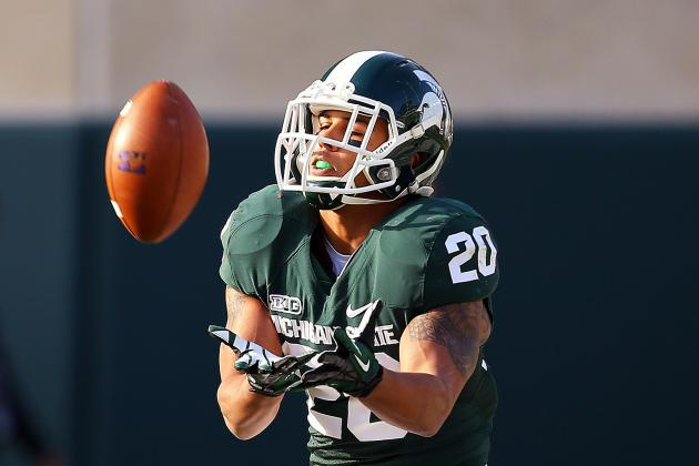 Michigan State Football Junior Tailback Nick Hill Undergoes Surgery
