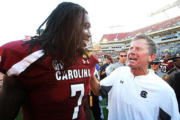 Report: Steve Spurrier Had Jadeveon Clowney on His Heisman Ballot Last Year