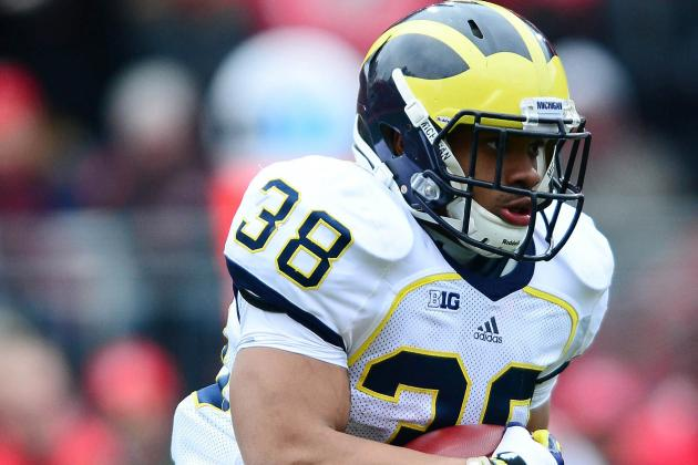 No Tailbacks Emerge in Spring, but Michigan Is Unconcerned