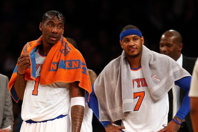 Would Amar'e Stoudemire's Potential Round 2 Return Ruin Carmelo Anthony's Mojo?