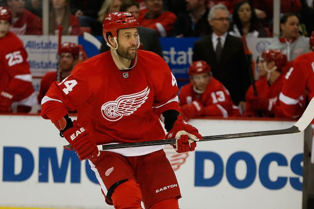 Todd Bertuzzi Says He Will Return to the Lineup Thursday Against Nashville