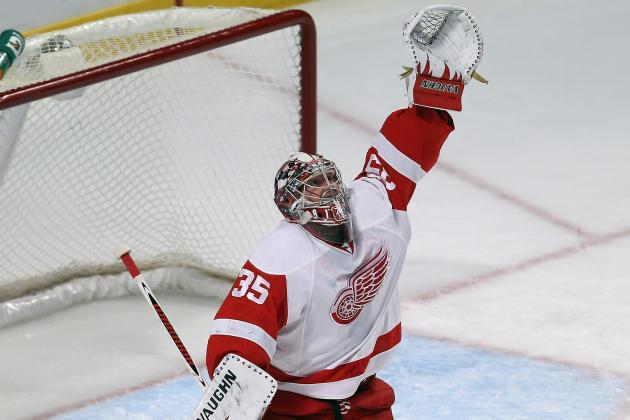 Red Wings Look to Howard to Stand Tall vs. Kings