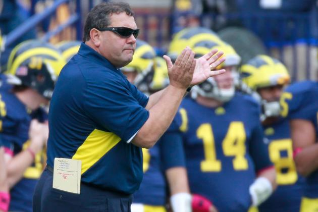 Brady Hoke Knows Way to Fans' Hearts; Donuts for Students at Noon Games