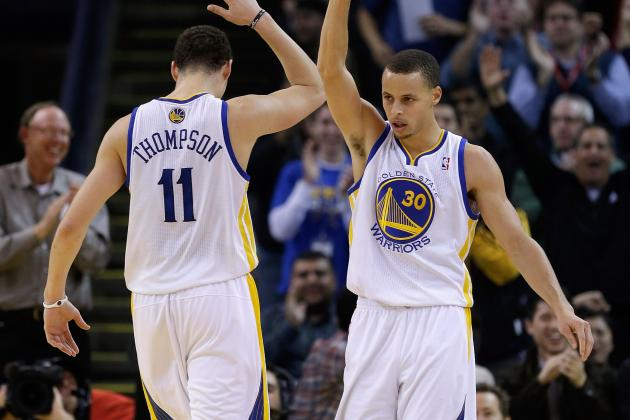 Jackson: Stephen Curry, Klay Thompson Are the Greatest Shooting Backcourt...