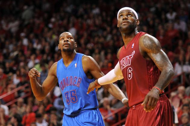 Kevin Durant Hires Analytics Expert, Checks LeBron James' Stats Every Game