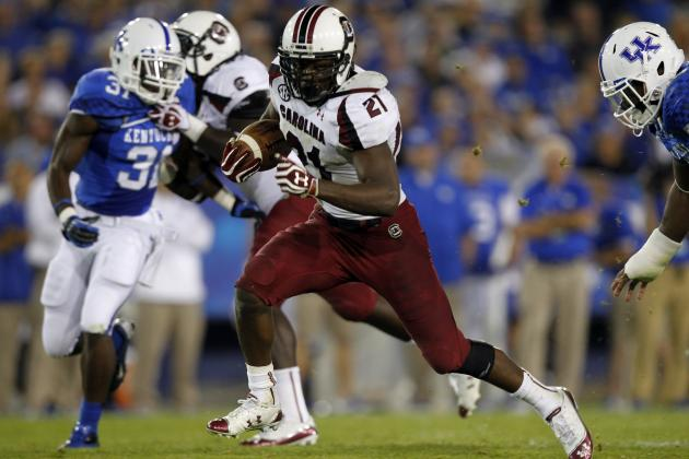 Marcus Lattimore: Teams That Should Take a Chance on the Running Back
