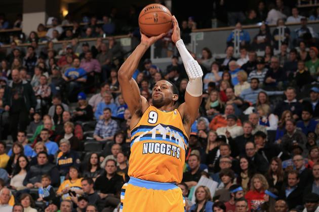 Nuggets' Andre Iguodala Encouraged to Shoot More Often
