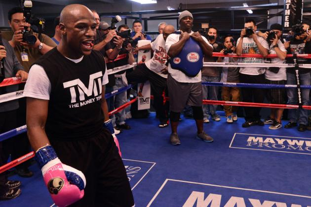 Mayweather vs. Guerrero Fight Time: Everything You Need to Know for Prize Fight
