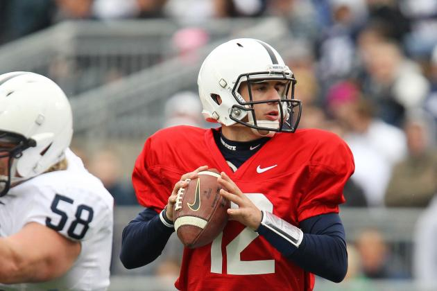 Penn State Football: QB Competition Down to Two with Release of Steven Bench