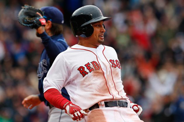 Victorino Leaves Game in 7th with Undisclosed Injury