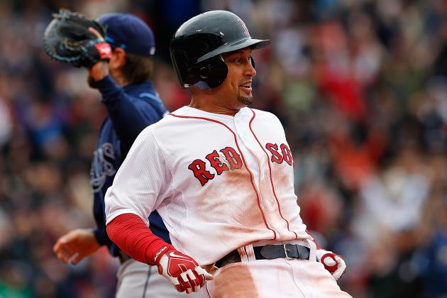 Shane Victorino Leaves Game Due to Injury