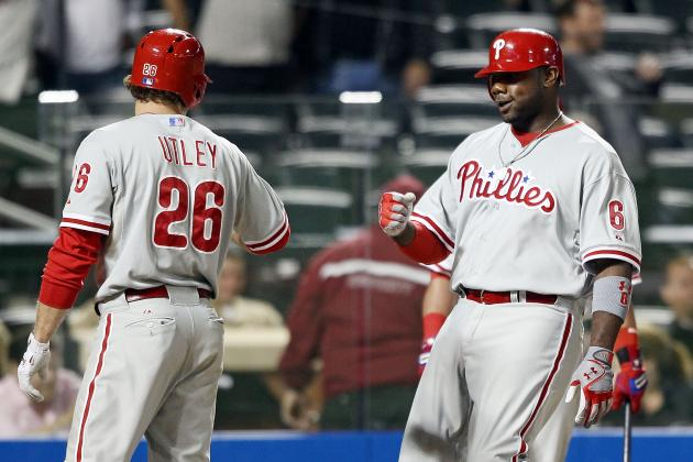 Manuel Decides to Split Up Chase Utley and Ryan Howard