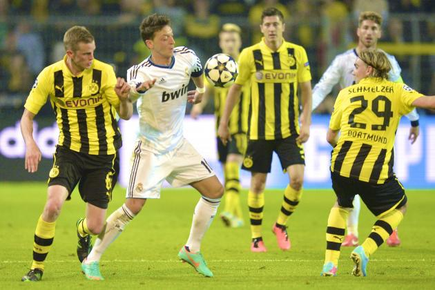 Borussia Dortmund 4-1 Real Madrid: Mourinho's Formation Experiment Goes Wrong